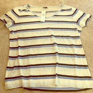 Tops - New with tags. V neck t shirt